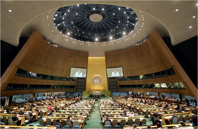 2018 UN Fourth Committee Resolutions Against Israel - UN Watch