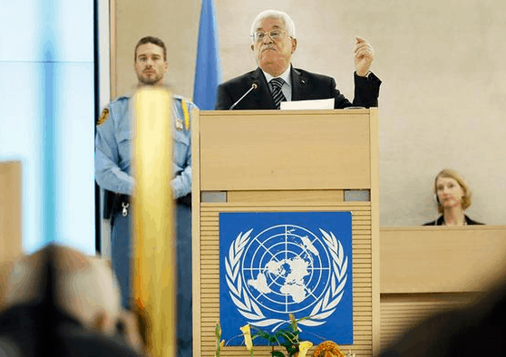 Abbas at UNHRC