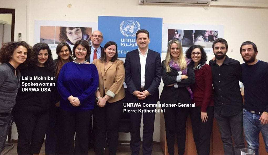 krahenbuhl and unrwa usa