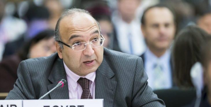 Egyptian ambassador Amr Ramadan
