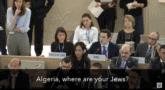 אלג'יריה היכן היהודים שלך? הלל נוייר במועצת זכויות האדם