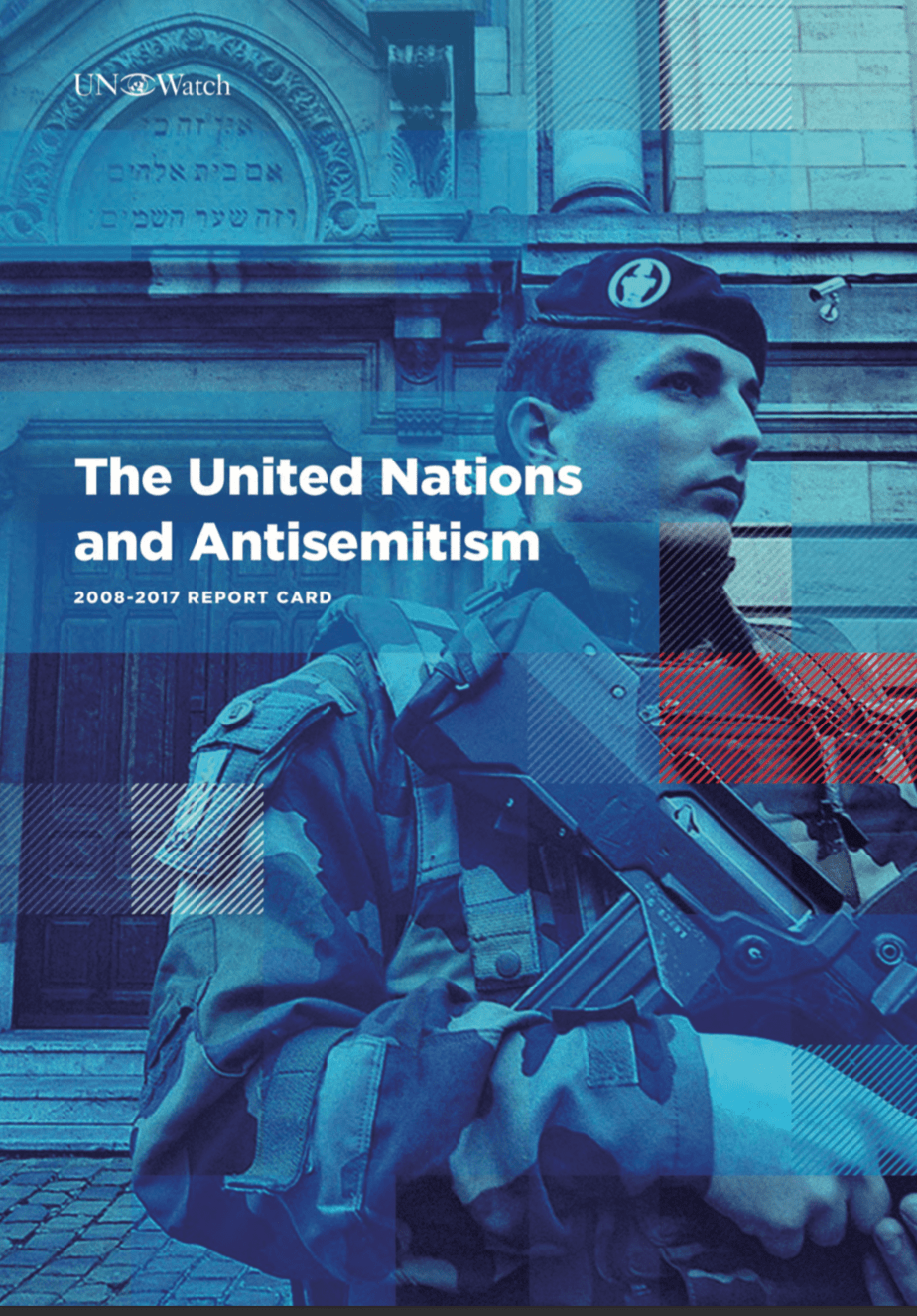 Report: UN Ignored Antisemitism for Decade - UN Watch